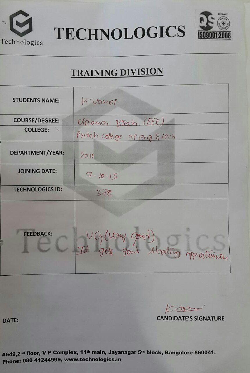 Pydah engineering college_Visakhapatnam, Andhra Pradesh_student reviews