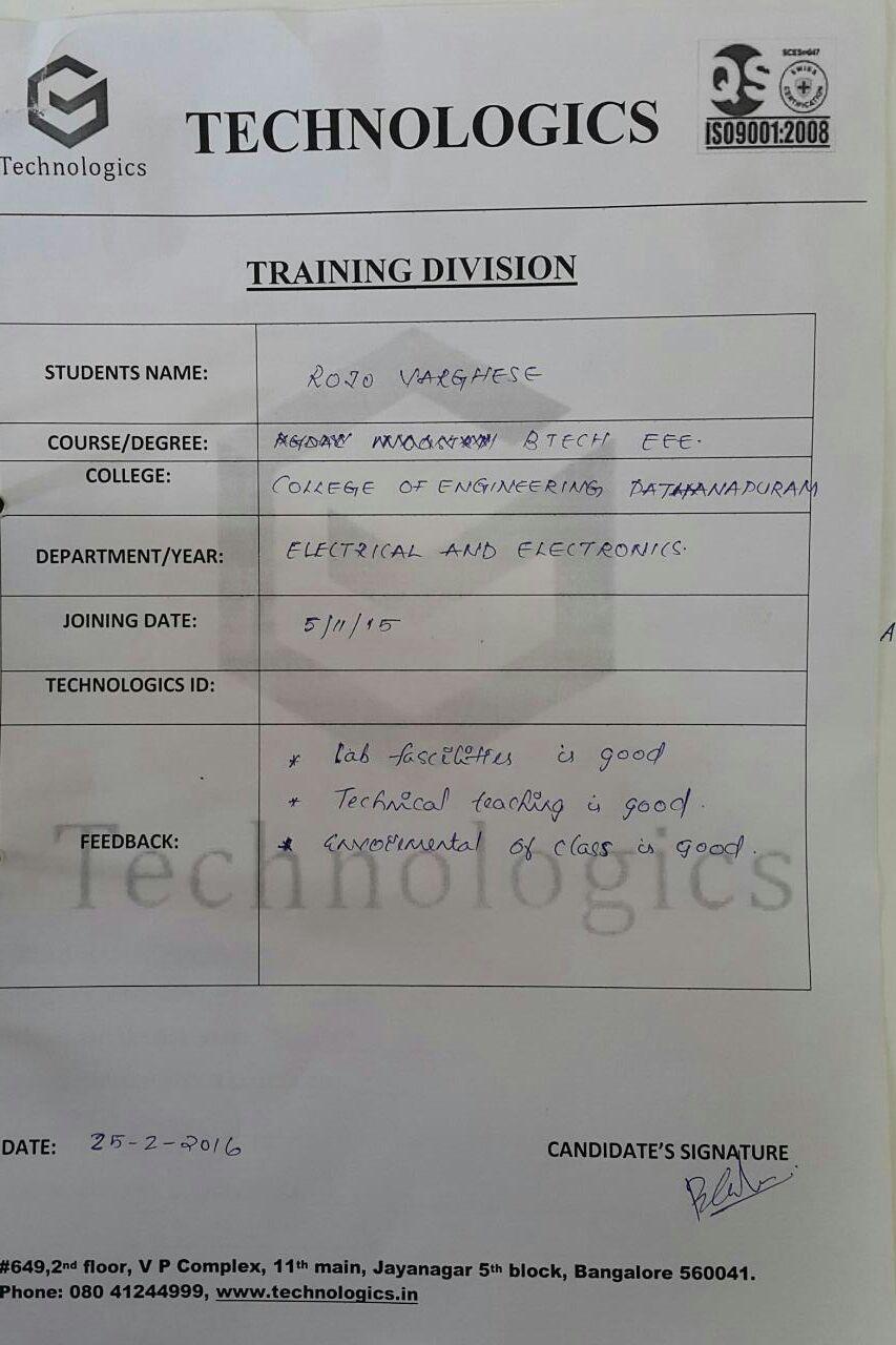 college of engineering Dathanapuram_student reviews