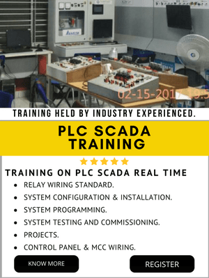 PLC SCADA TRAINING IN INDIA