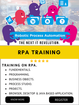 RPA TRAINING IN INDIA