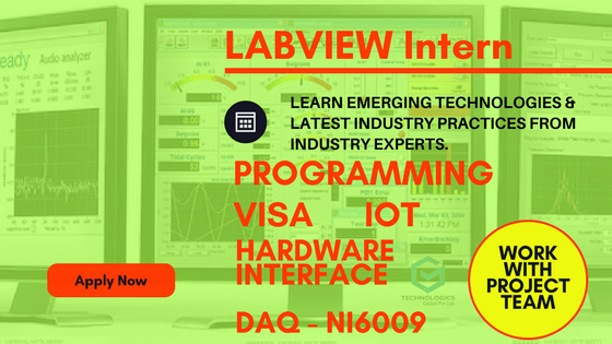 LABVIEW INTERNSHIP AT BANGALORE