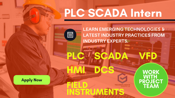 PLC SCADA INTERNSHIP IN BANGALORE